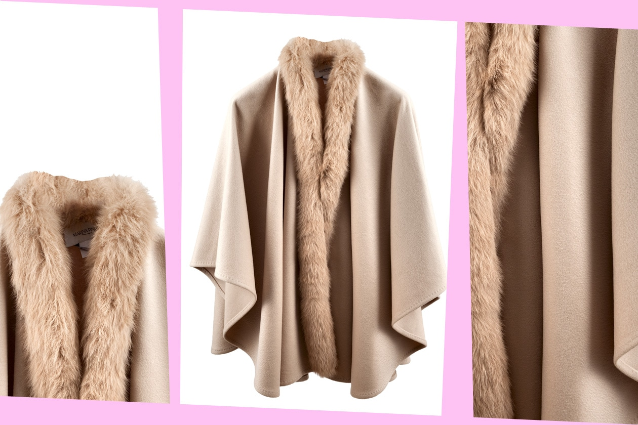 Fur Details MARINA RINALDI