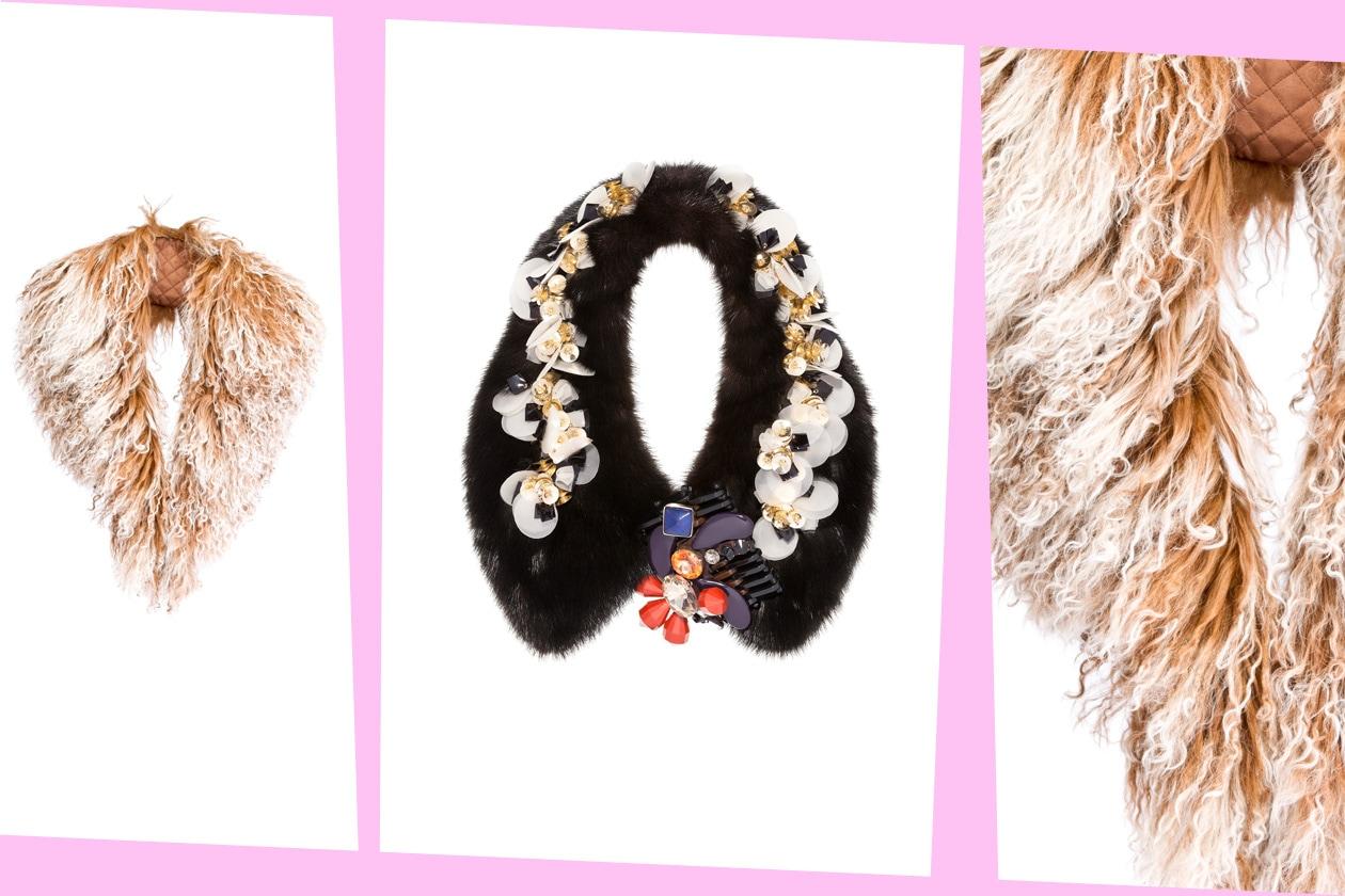 Fur Details MARNI ACCESSORIES FW 12 13 ASH Angel camel