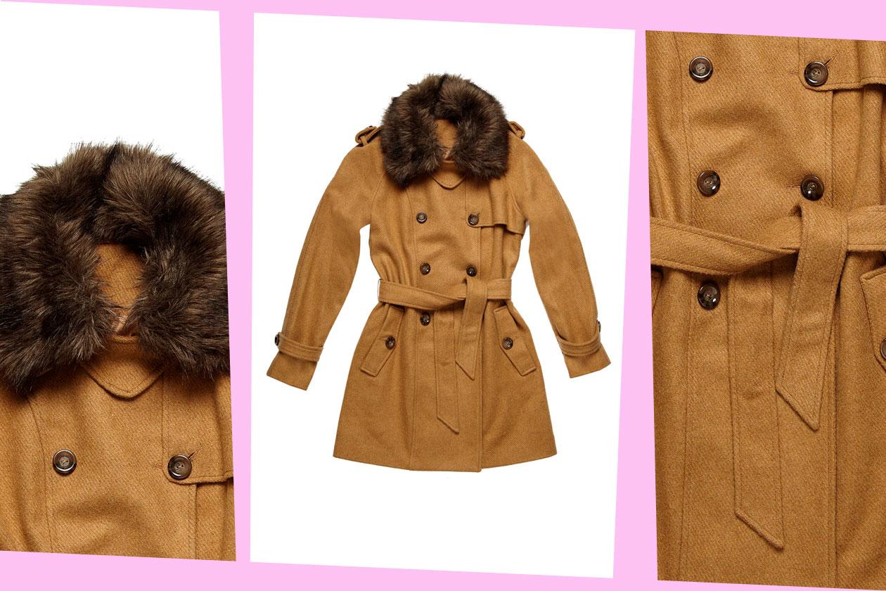 Fur Details OVS INDUSTRY 25295