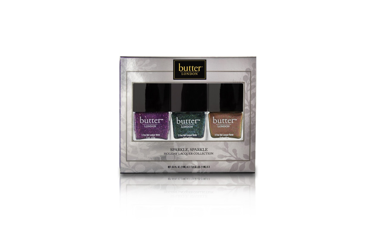 Holiday Lacquer Trio Butter London