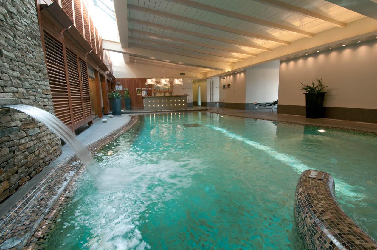 L'Hotel Terme Mioni è un vero e proprio paradiso d'acqua grazie alle cinque piscine termali con temperature che vanno dai 34 ai 37 gradi in inverno