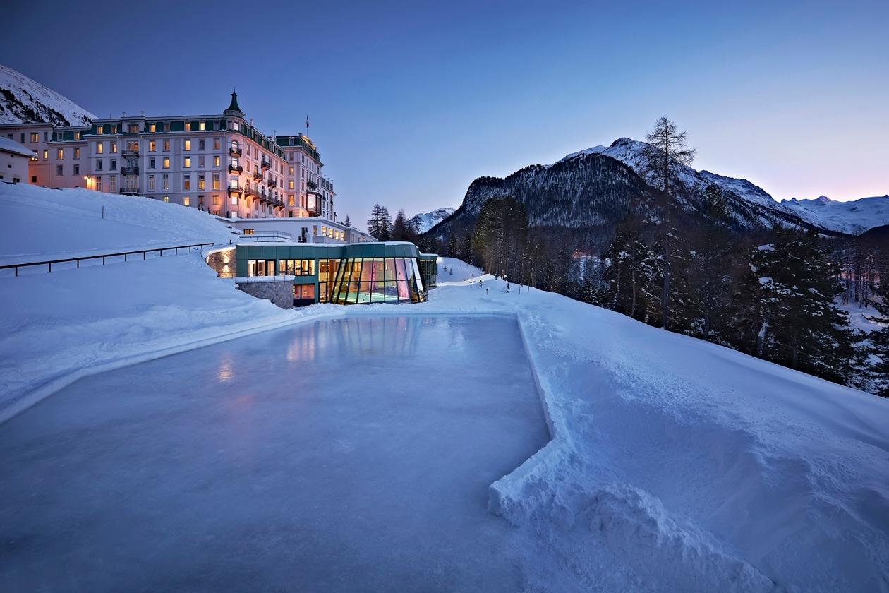 La natura è l'elemento base della filosofia della spa del Grand Hotel Kronenhof: dalle stanze al Centro Benessere, l'ospite non perde mai di vista il panorama