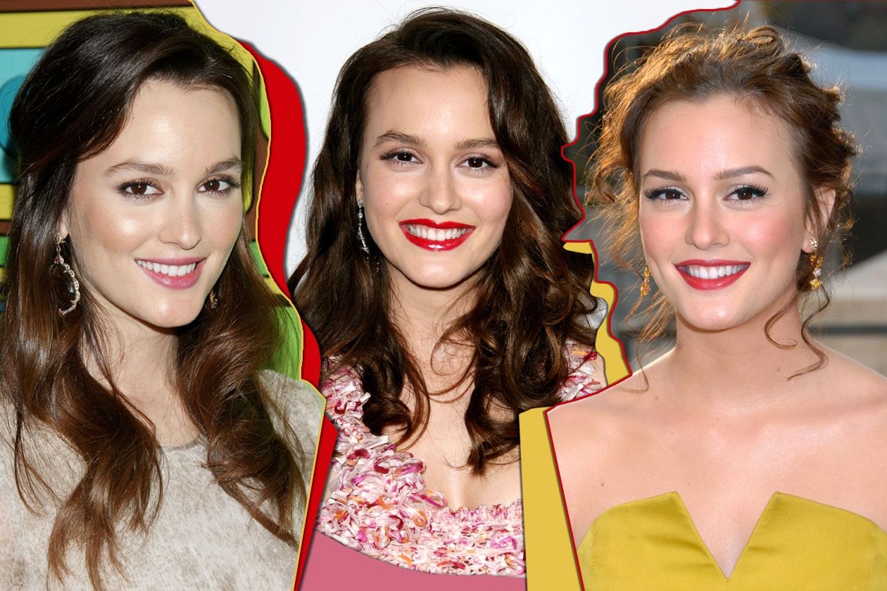 Leighton Meester Beauty Look