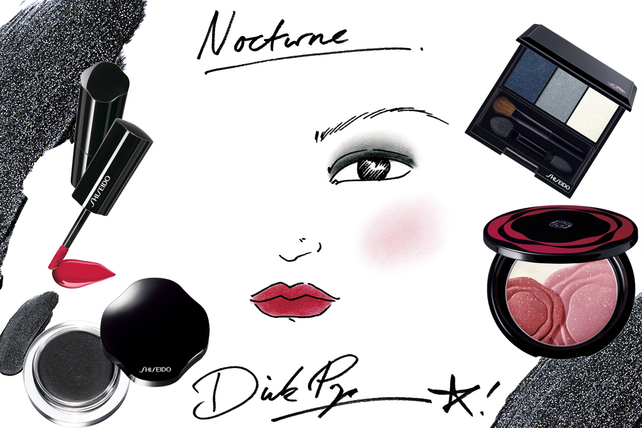 Shiseido Nocturne holiday 2012