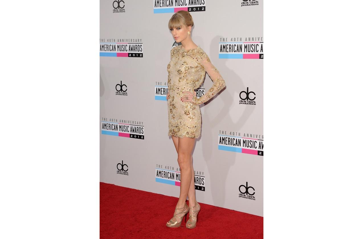 Taylor Swift sceglie sempre i colori giusti