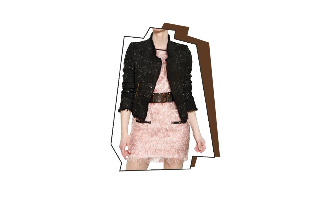 Top List Glitter giacca msgm luisa via roma