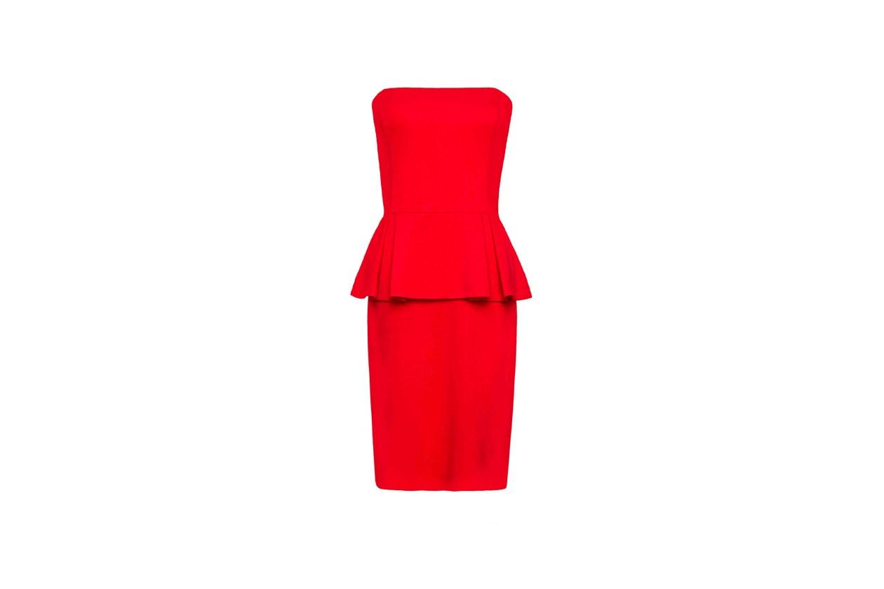 Top List Peplum Mango peplum dress 71440553