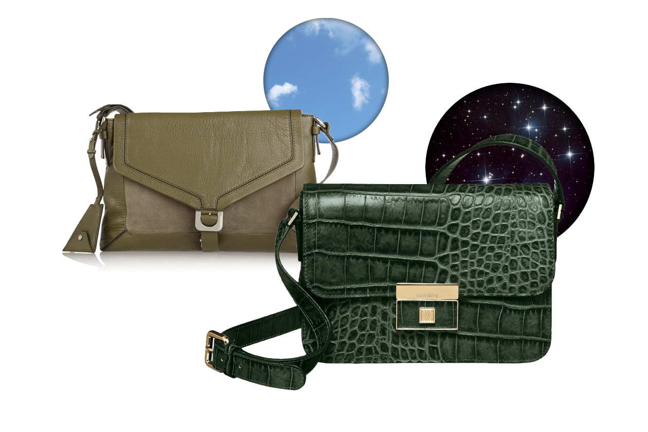 Top List Tracolle DVF bag day Coccinelle borsa Quincy night