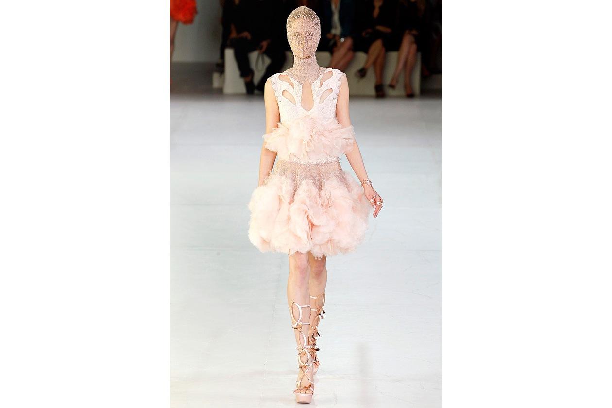 alexander mcqueen sarah burton spring 2012 rtw wedding dress romantic tulle
