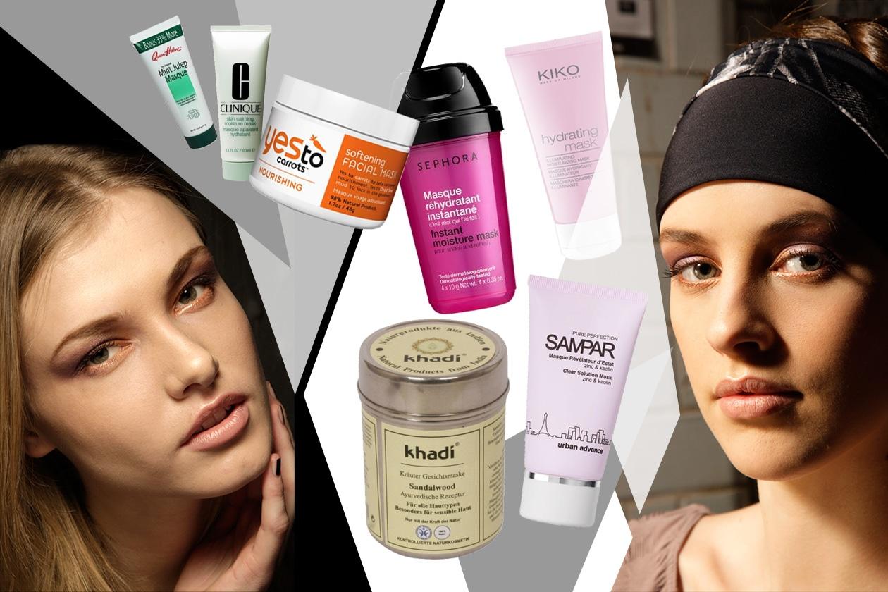 cover beauty maschere viso