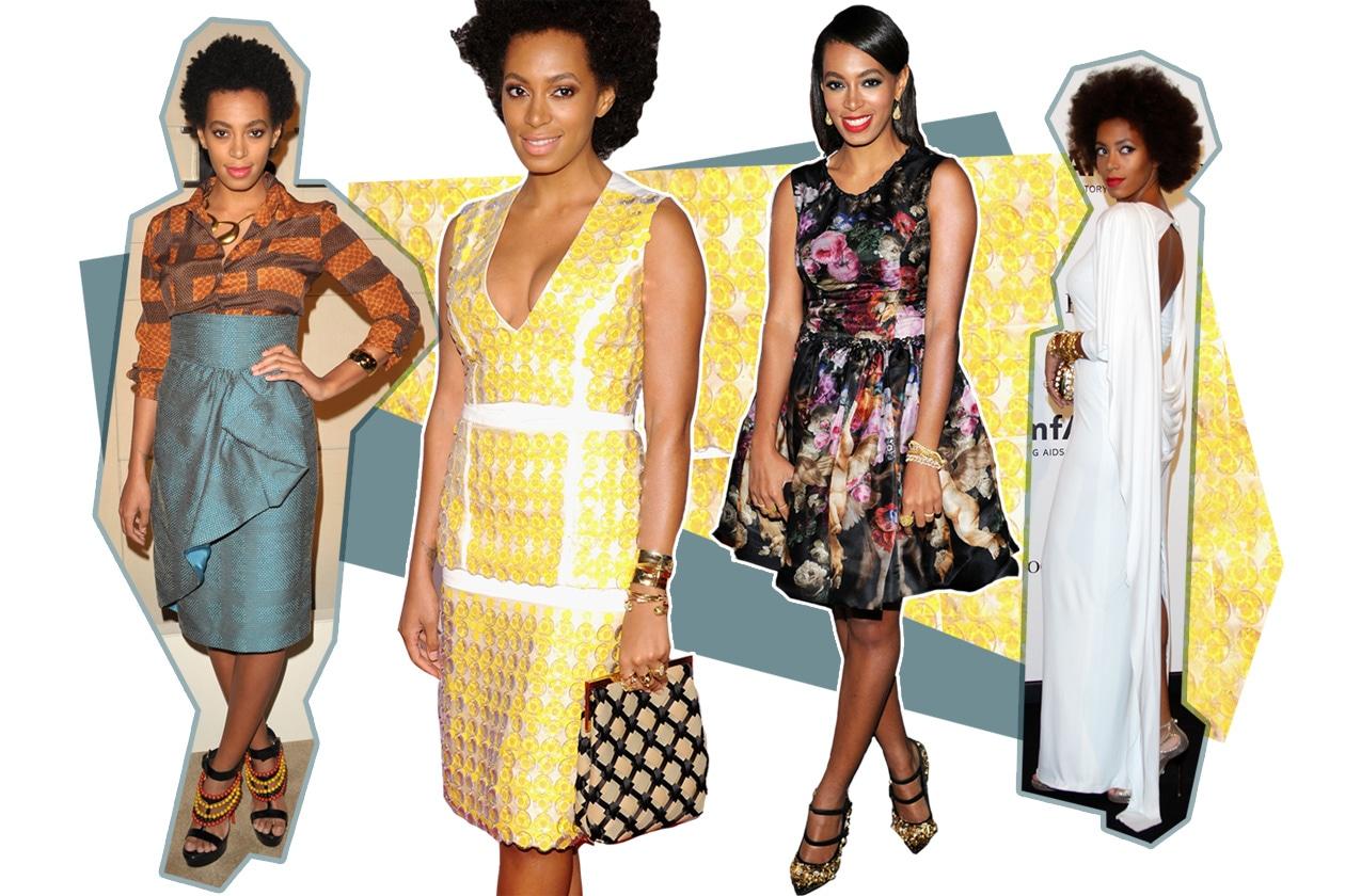 Solange Knowles, style icon della settimana