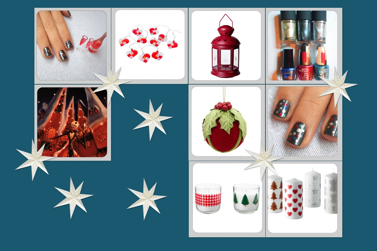 00 Speciale Unghie Natale Feste colorate lights