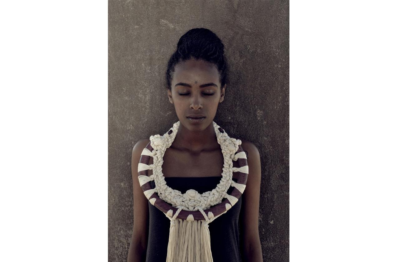 00 Crochet La collana afro di Namarietti