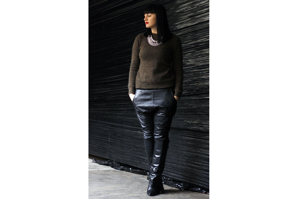 03 Pantaloni pelle imperfectperfectionista