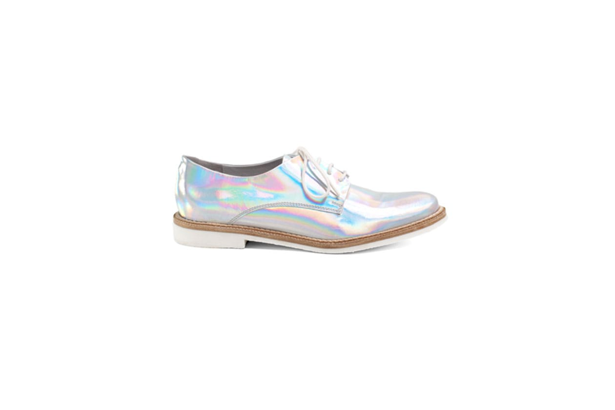 3 trend Optical Miista shoes iridescent