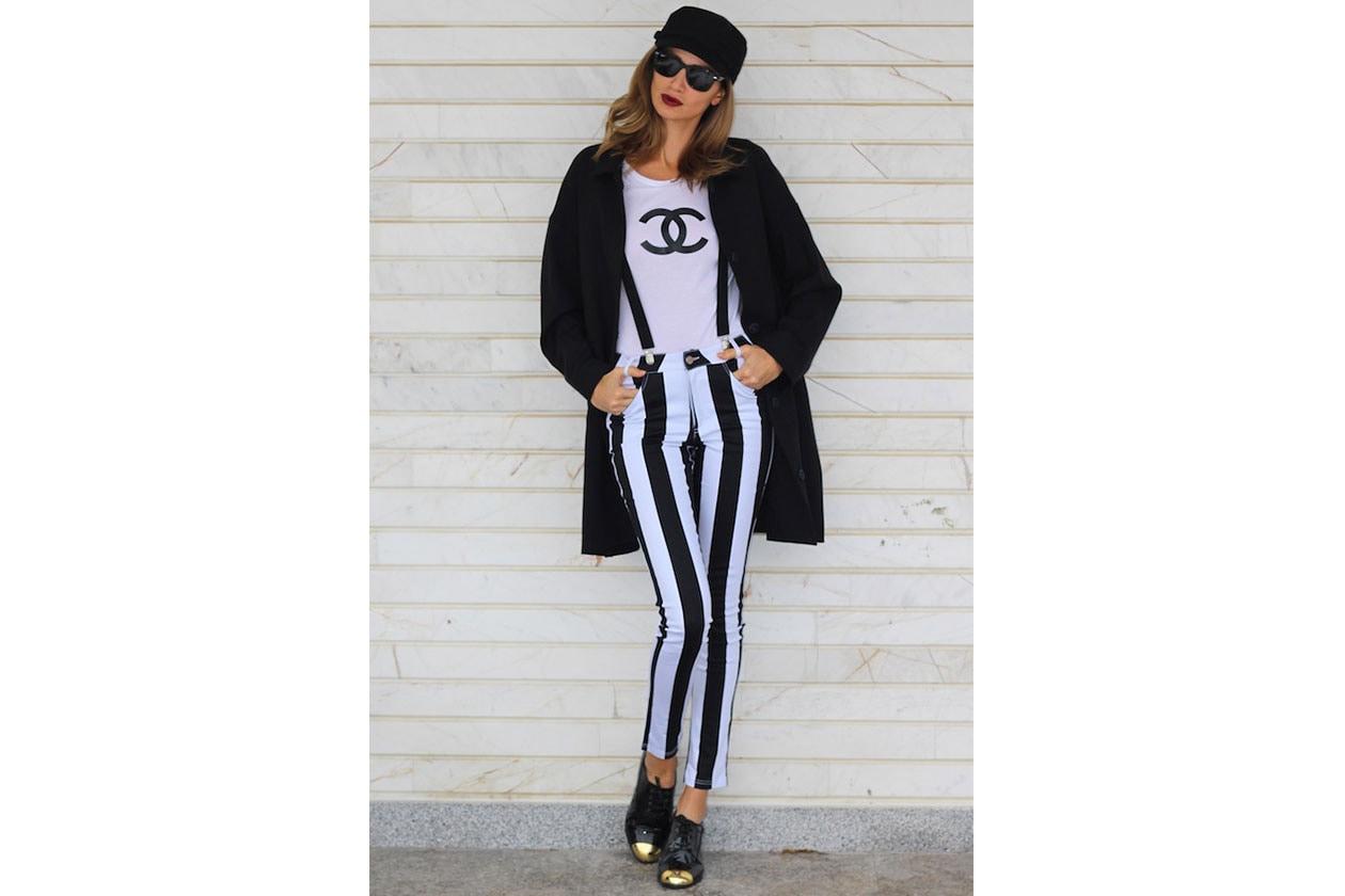 3 trend Righe B&W thegaragestarlets alina chanel classic vintage stripes