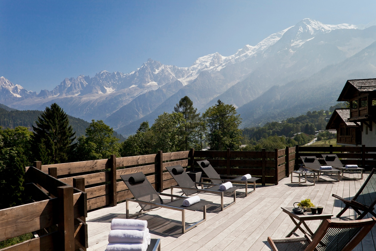 Caudalie Spa chamonix Relaxation area 1