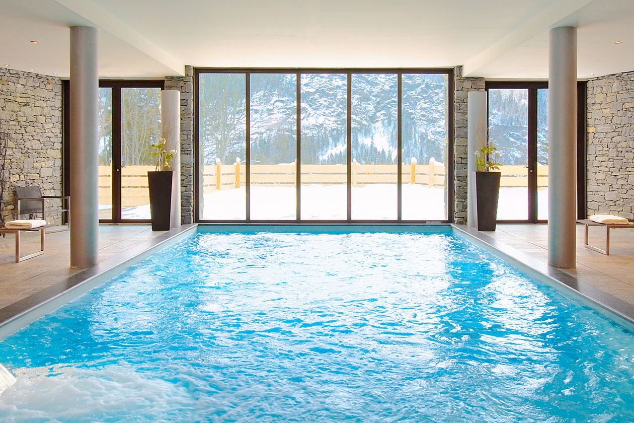 Caudalie Spa chamonix SPA   POOL 1