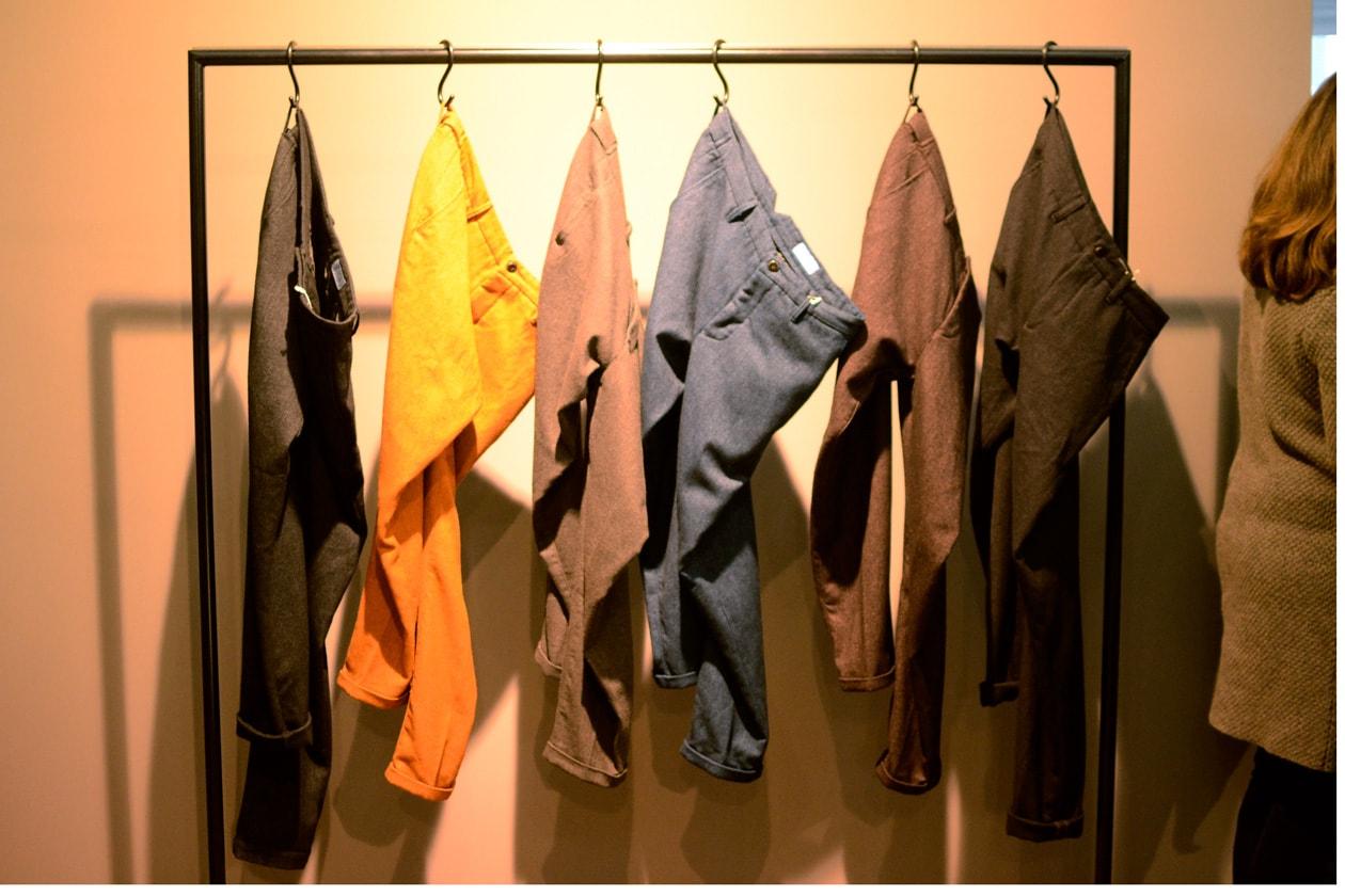 Closed pantaloni in lana