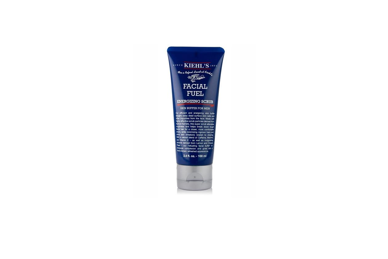Il Facial Fuel di Kiehl' s contribuisce a migliorare l'aspetto e la consistenza della pelle