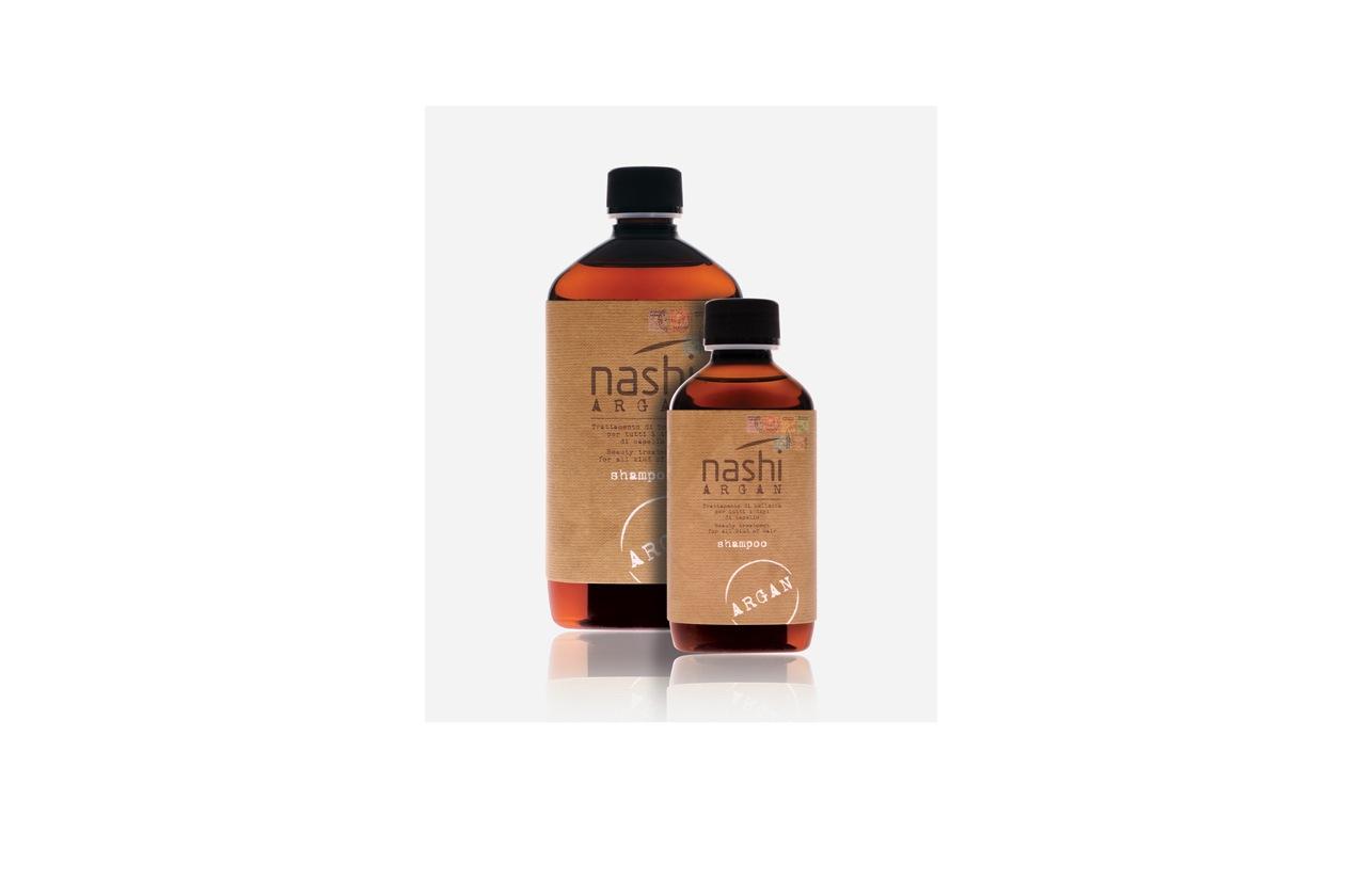 L'Argan shampoo di Nashi protegge il colore