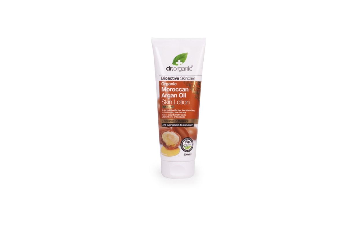 L' Organic Moroccan Argan Oil Skin Lotion rende la pelle più morbida