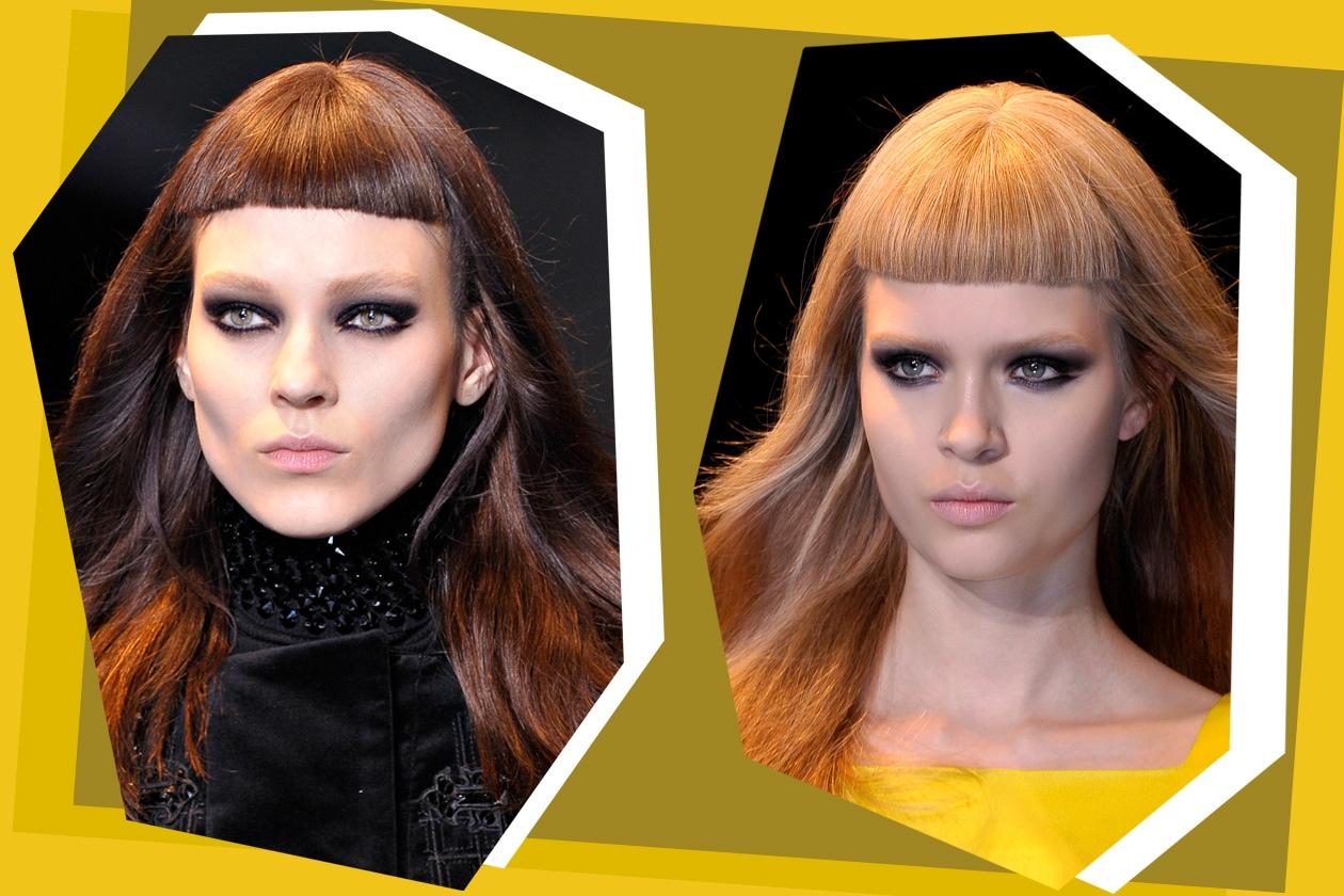 Liscia e geometrica: la proposta di Versace