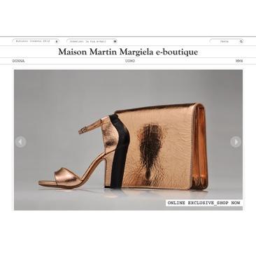Margiela presenta la nuova boutique online