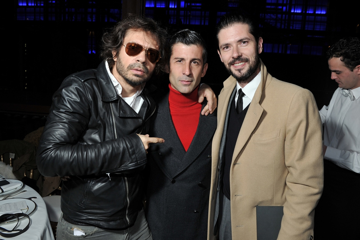 Olivier Zahm, Andre Saravari & Melvil Poupaud Berluti 48