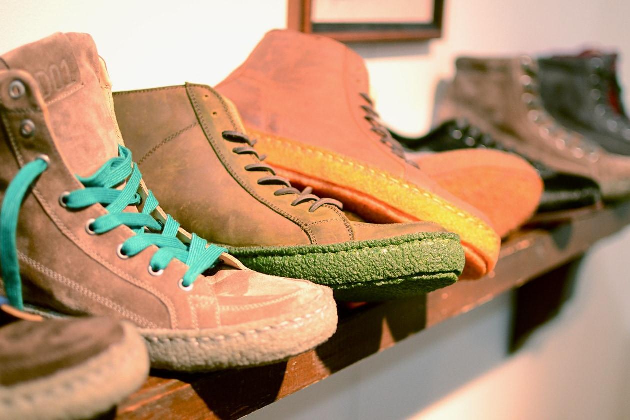 Pantofola d'oro, suole colorate