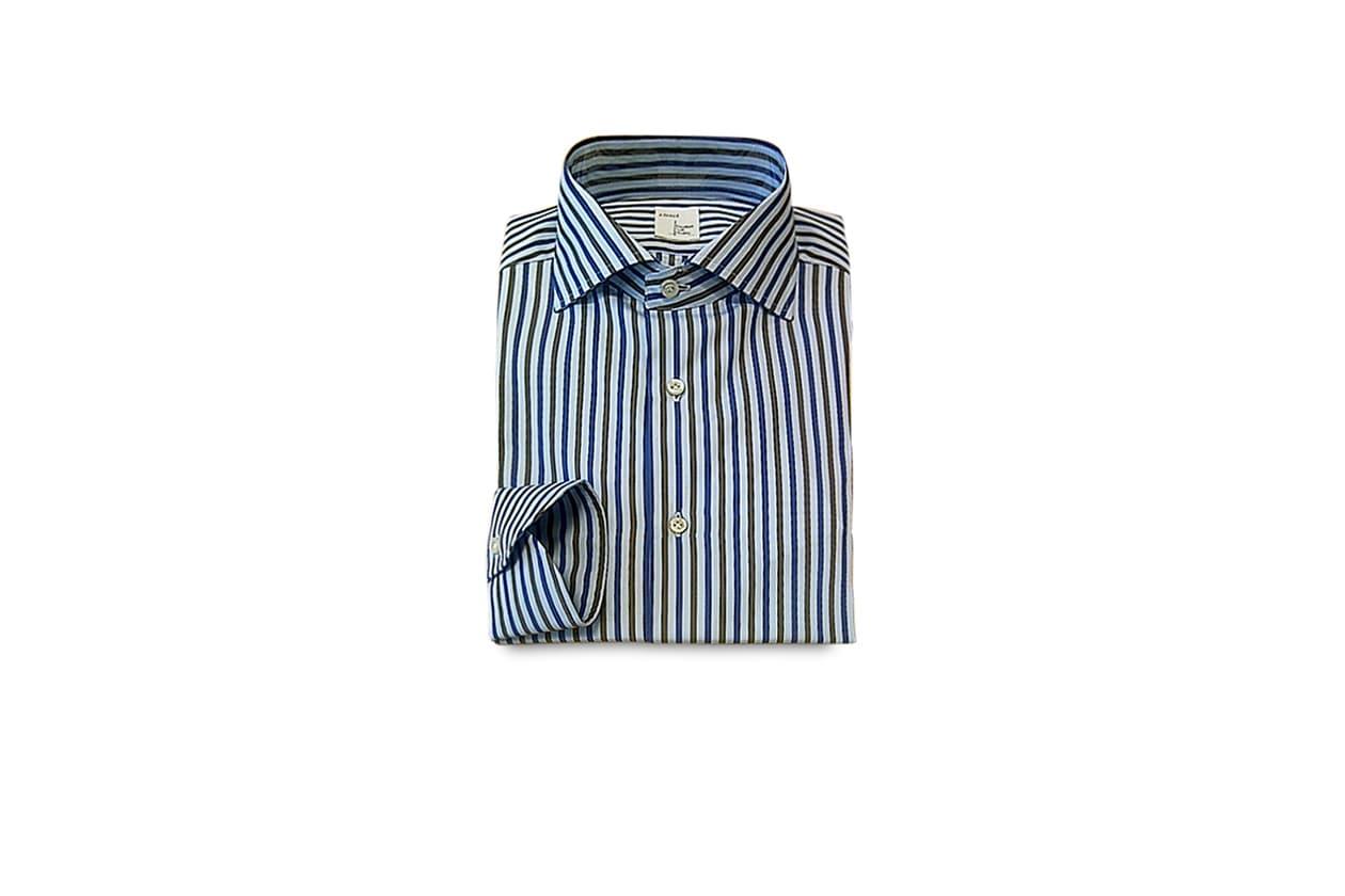 Pitti uomo preview camicia carrel collezione A I 2013 14