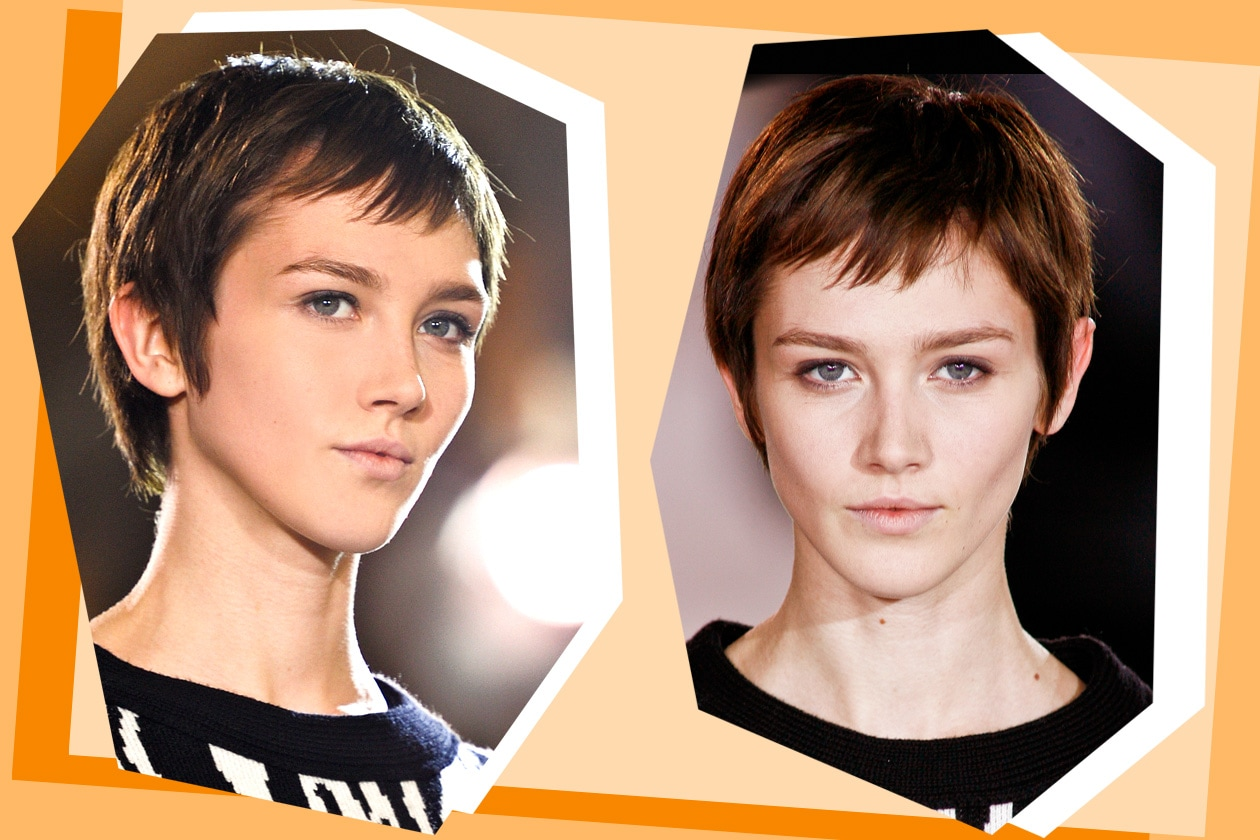 Trendy anche la frangia sui capelli più corti stile pixi (Felipe Oliveira Baptista)
