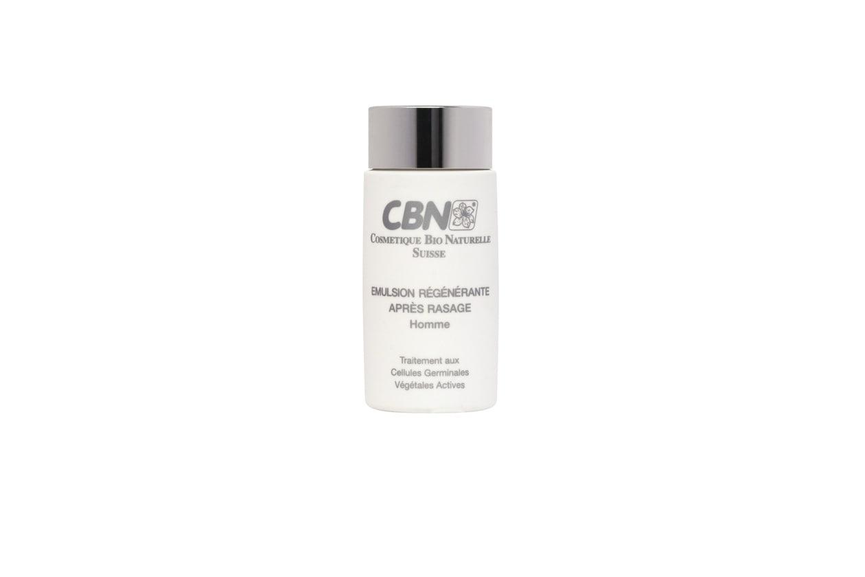 Un ritrovato a base di cellule germinali vegetali  è alla base dell'emulsione après rasage del marchio svizzero CNB