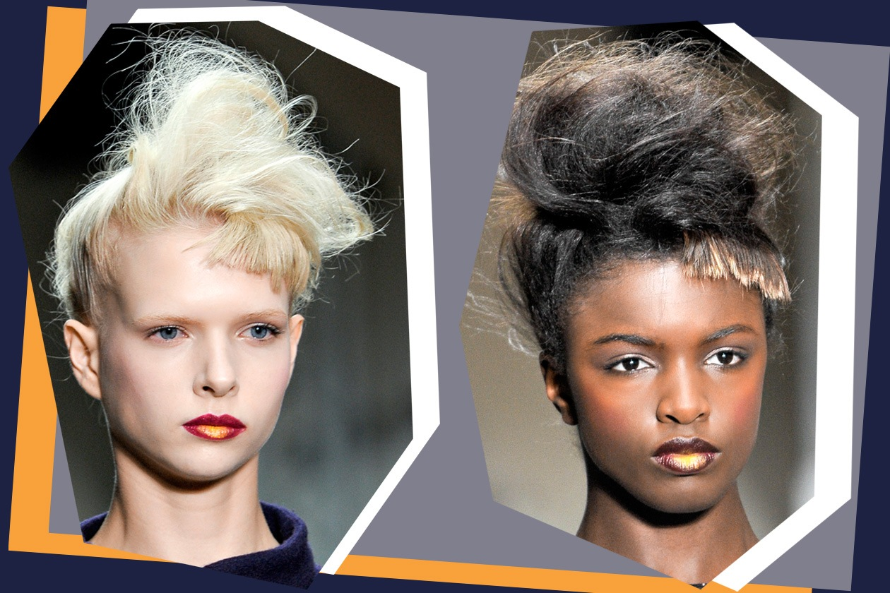 Volume hair e frangia scolpita per Jean Pierre Braganza