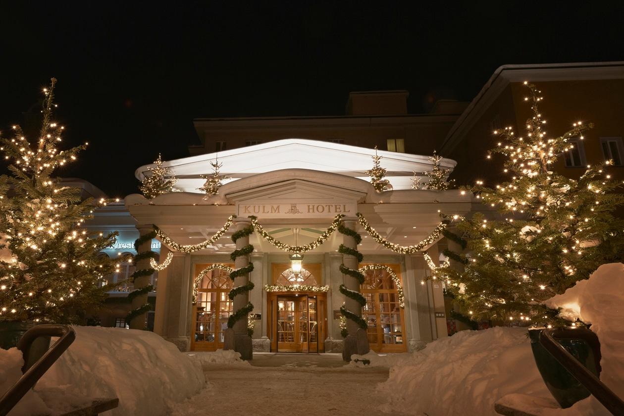 Winter Weihnachten Eingang