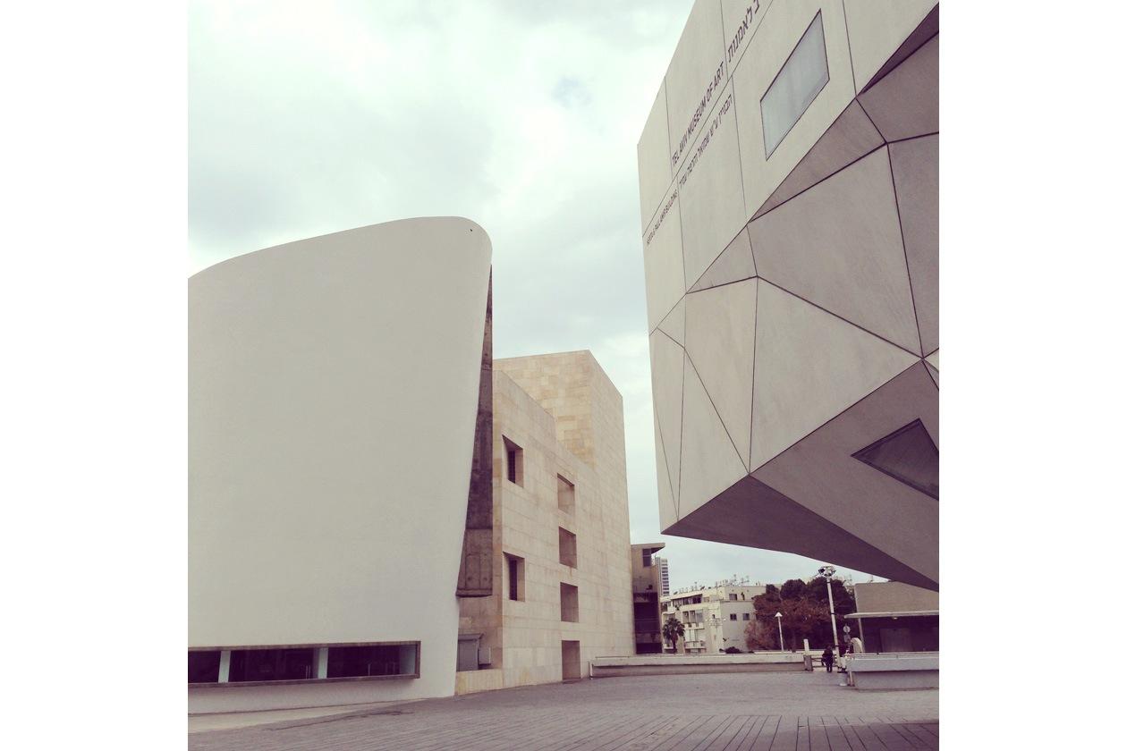 esterno Tel Aviv Museum of Art 2