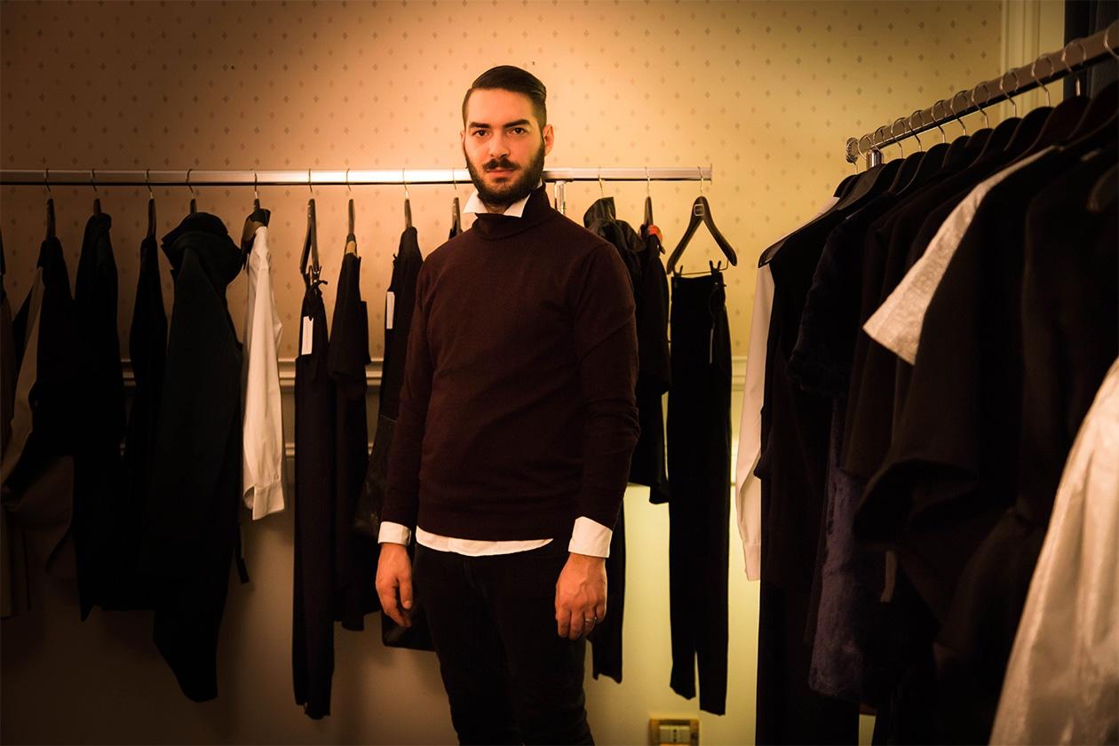 Room Service Alessandro D'Amico abiti AltaRoma