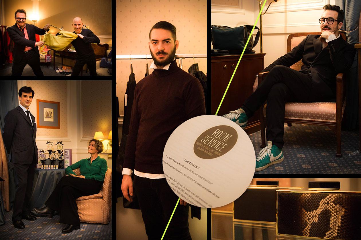 Room Service: la moda è servita