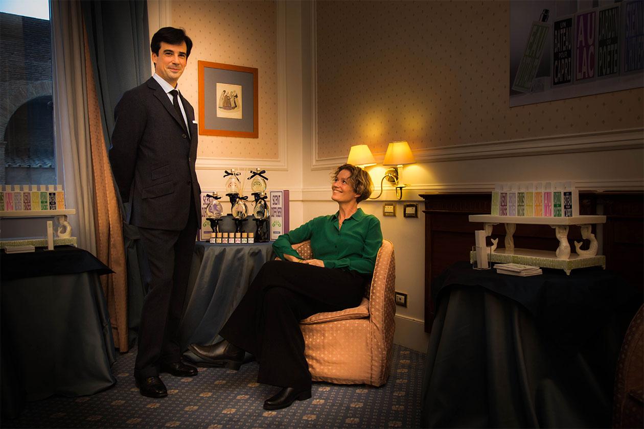 Eau d'Italie profumi Room Service AltaRoma ritratto
