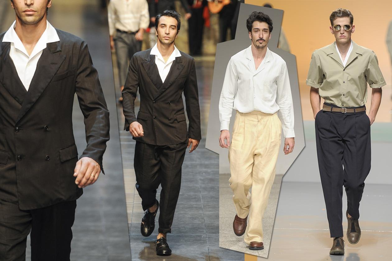 Scelte di Primavera Dolce Gabbana Umit Benan Z Zegna