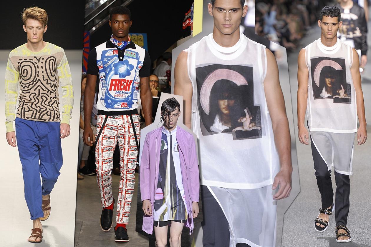 Scelte di Primavera Moschino Raf Simons Givenchy V Westwood