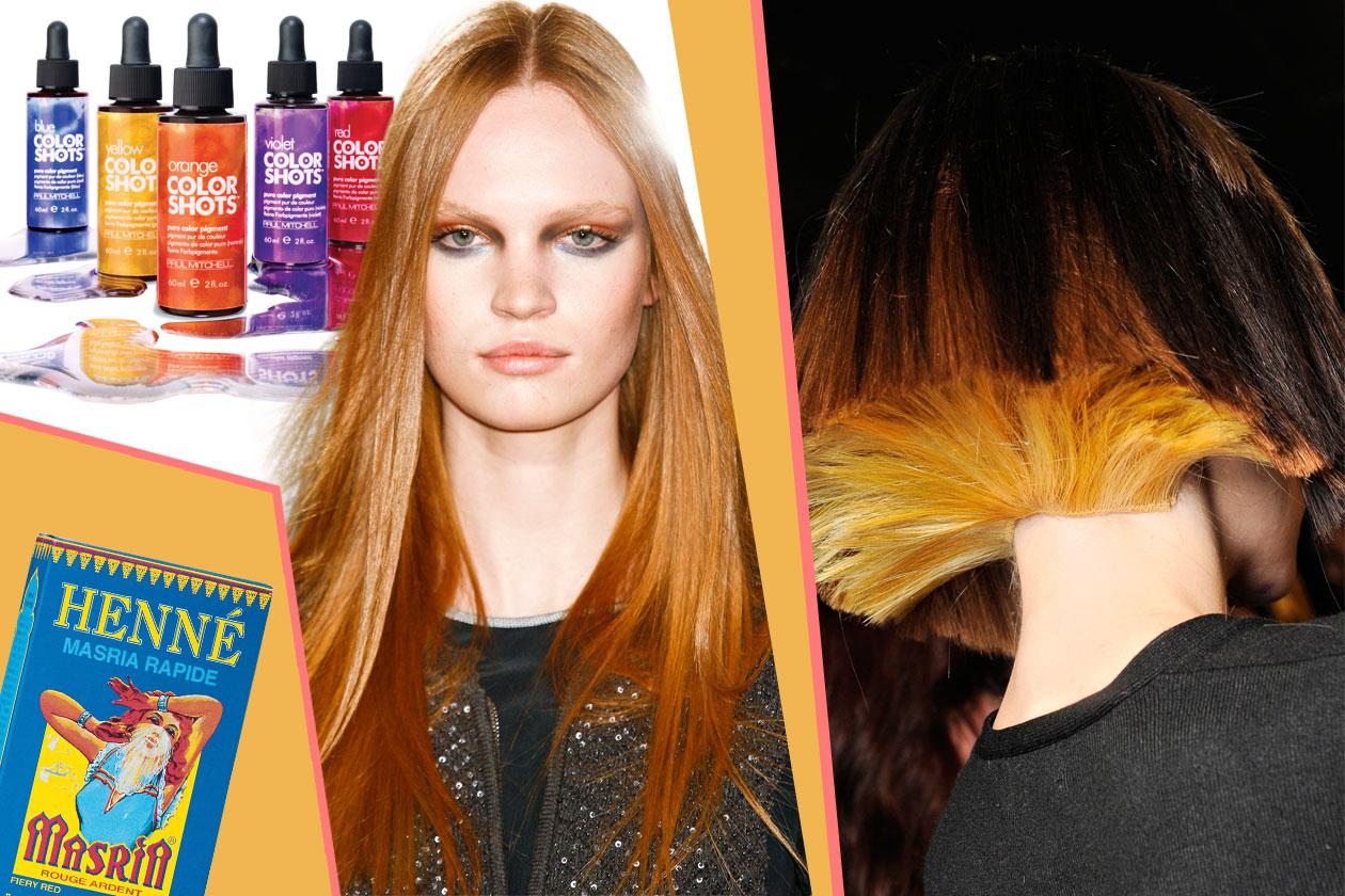 00 beauty prodotti per capelli colorati Collage