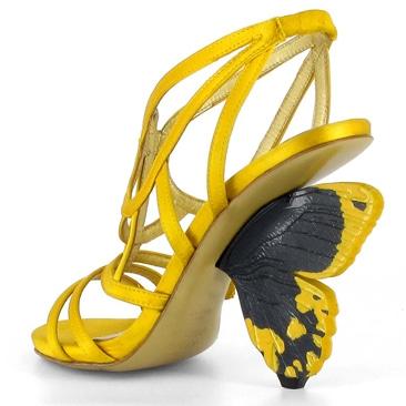 Alberto Guardiani presenta la Flutterby shoes
