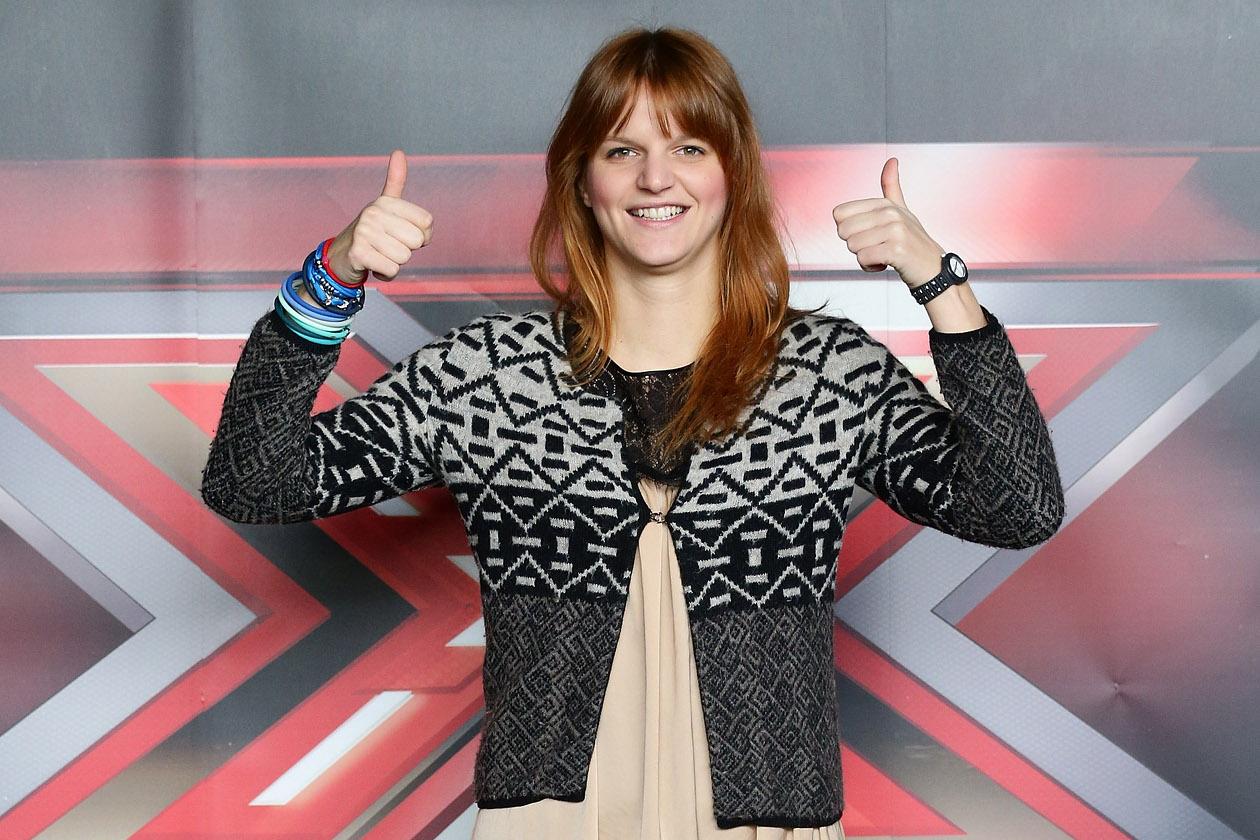 Chiara posa per X Factor