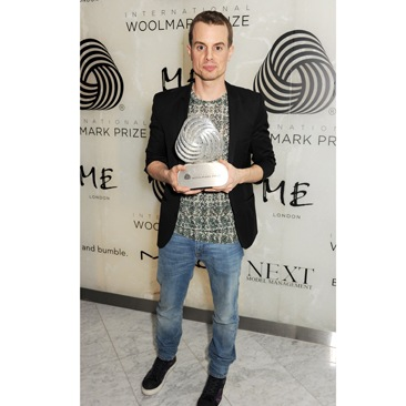 Christian Wijnant vince l'International Woolmark Prize 2013