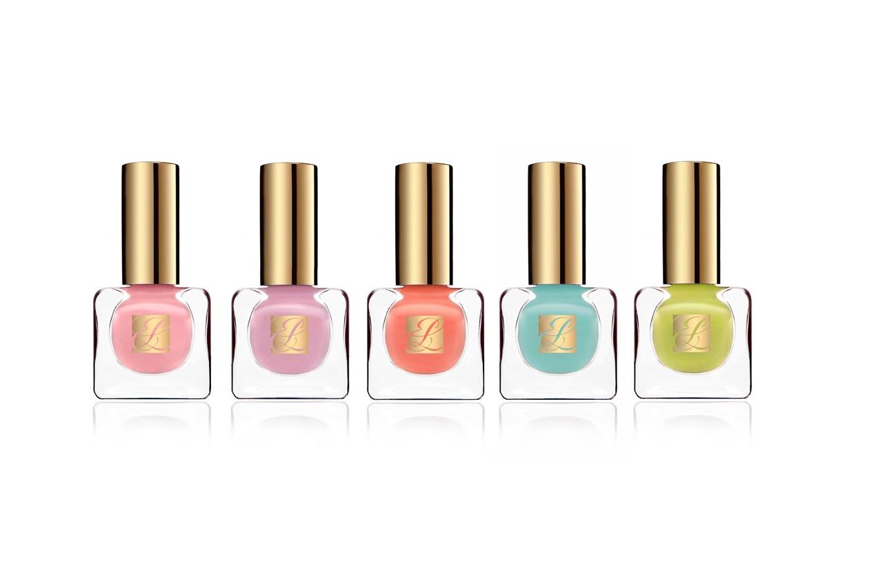 Cinque tonalità fresche e giocose per i Pure Color Nail Lacquer Heavy Petals Collection di Estée Lauder