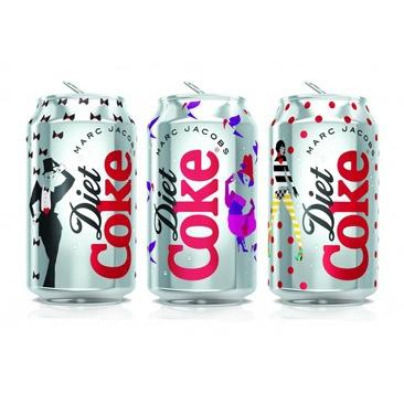 Diet Coke e Marc Jacobs: ecco le prime lattine