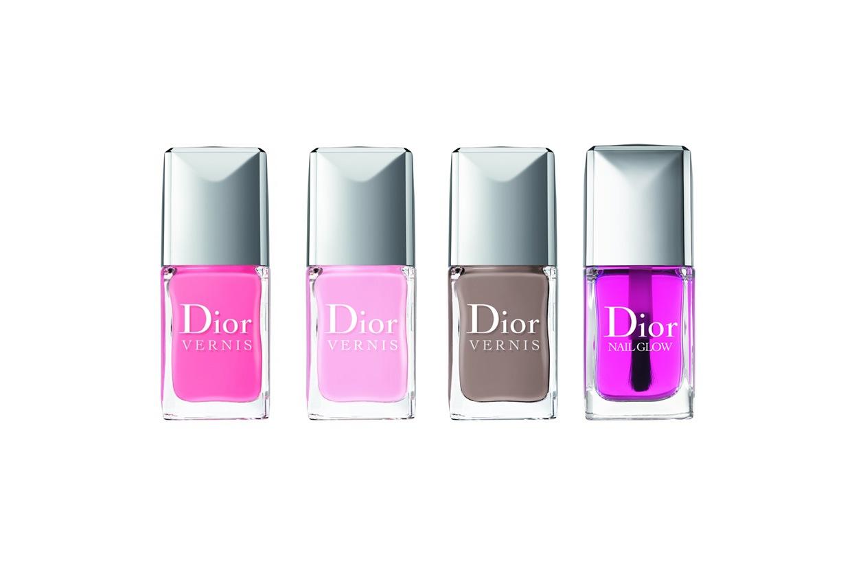 Dior sceglie un duo di smalti rosa, dal chiaro Tutu all'intenso Rosy Bow