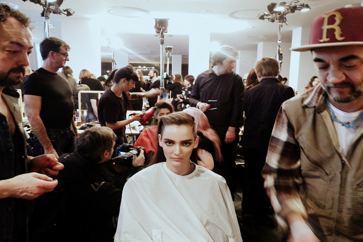 Eugene Souleiman firma l'hair styling di Etro