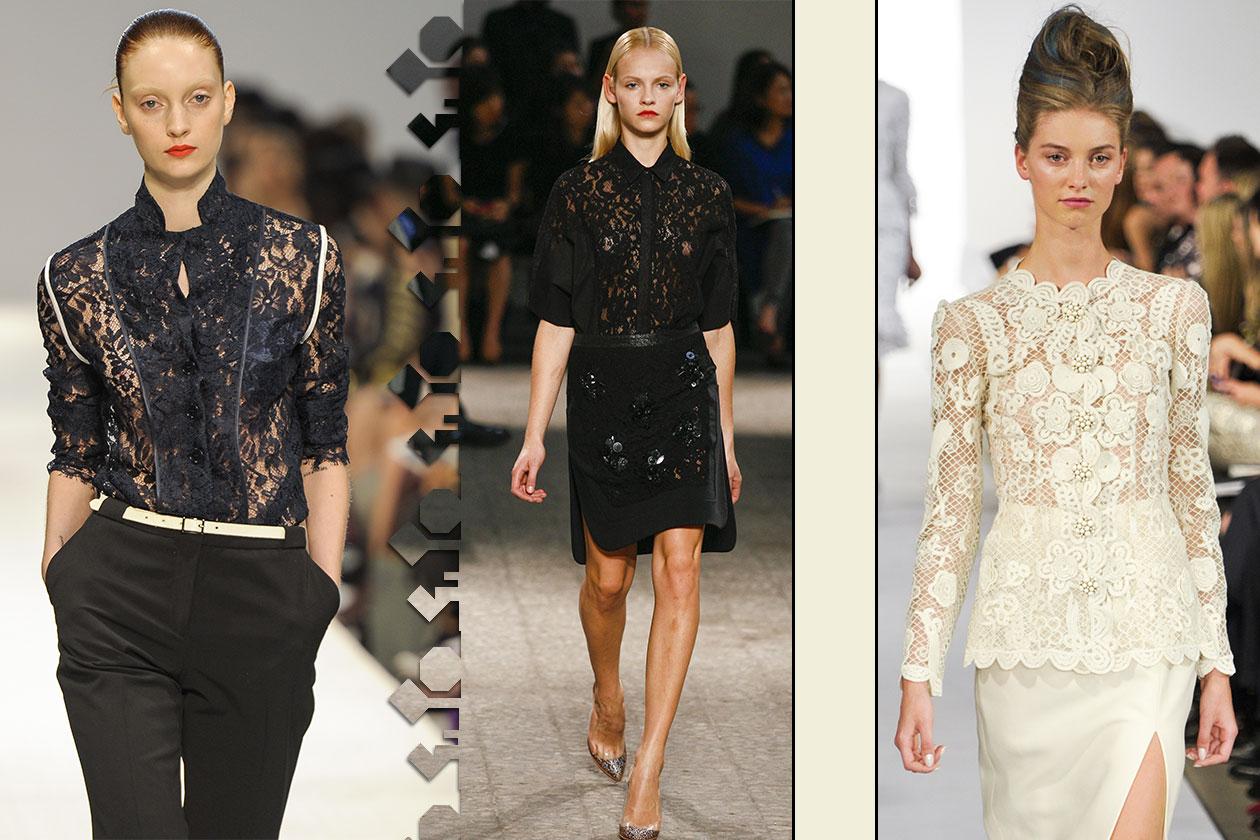 Fashion 23 must have 2013 Camicia pizzo